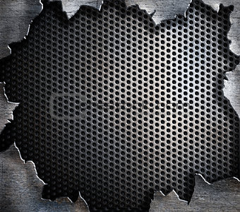 grunge steel metal background