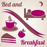 Bed and breakfast menu