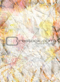 background crumpled paper