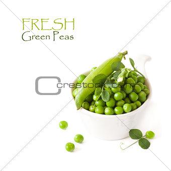 Green peas.