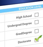 doctorate education level survey