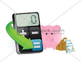 calculating saving