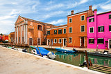 Old Buildings In Burano