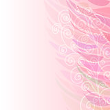 Pure Abstract pink floral background pattern right