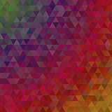 Red purple triangles abstract background