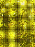 Bright yellow rectangle mosaic