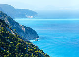 Summer Lefkada Island coast  (Greece)