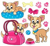 Cute dog theme image 1