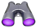 binocular device for supervision