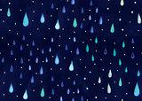 watercolor rain.