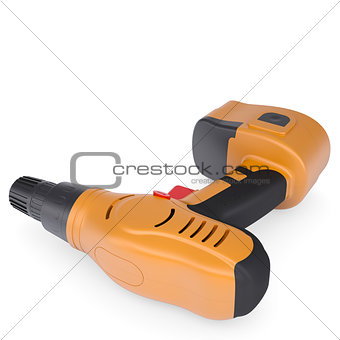 Orange screwdriver