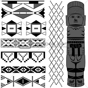 Ancient American pattern