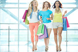 Girls in the mall