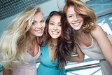 Cheerful friends