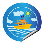 leisure cruise sticker