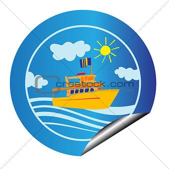 leisure cruise sticker