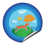 vacation sticker