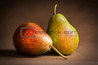 Apple Pear Still life