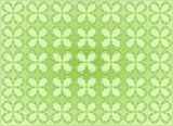 four leaf clovers pattern