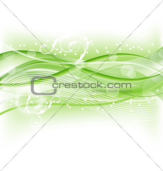 Abstract nature background, design template