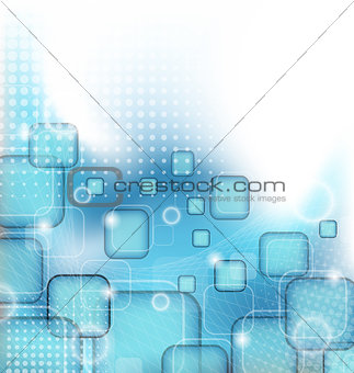 Abstract squares blank background for design business flyer