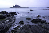 St Michael's Mount Bay Marazion sunrise Cornwall England