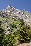 Vardousia Mountain Peak