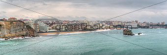 Biarritz Skyline Panorama France