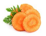 Carrot segments