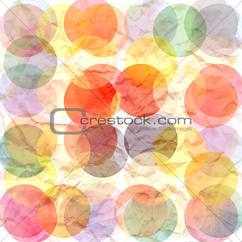 background colored circles
