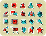 20 Internet Communication Stickers