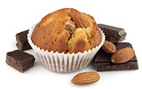 Cake with almonds