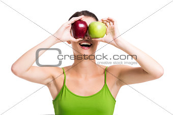 Looking apples