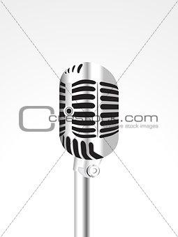 abstract shiny mic
