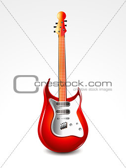 abstract glossy guitar