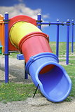 colorful plastic slide