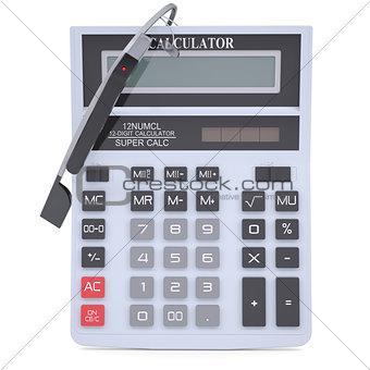 Google Glass and calculator