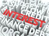 Interest. The Wordcloud Concept.