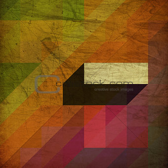 Grunge background with diagonal shapes and space for text.