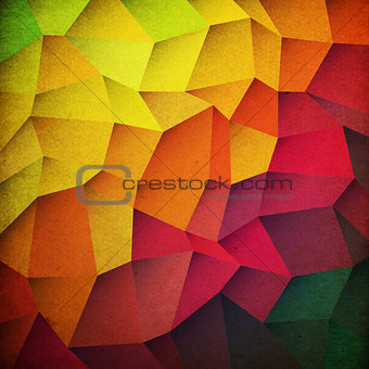 Grunge colorful patches background