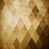 Vintage grunge harlequin background.