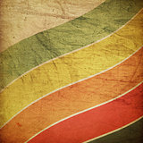 Vintage grunge colorful lines background.