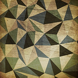 Retro triangles background