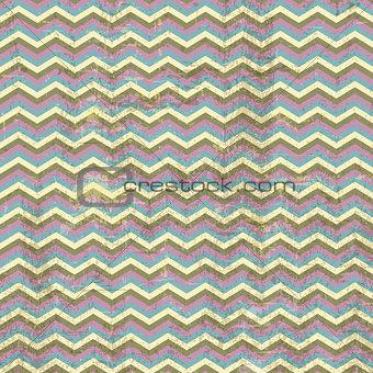 Grunge chevron stripes background