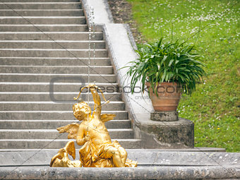 Golden Angel Fountain