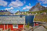 Norwegian fishing town