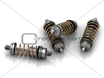 4 automotive shock absorber