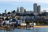 Residential areas in San Francisco