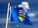 Alberta flag Canada
