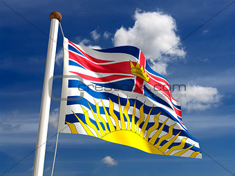 British Columbia flag Canada